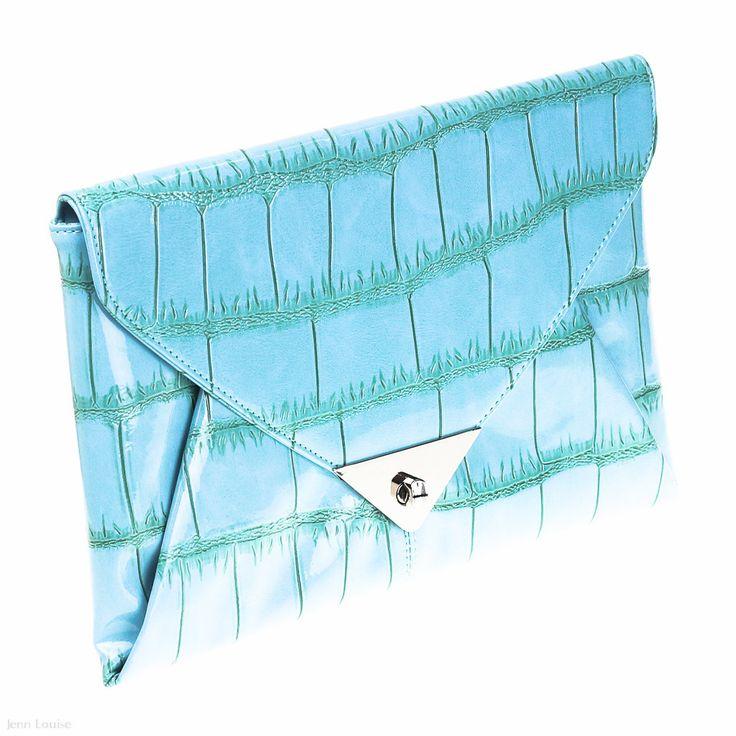 Oversized Envelope (Aqua)