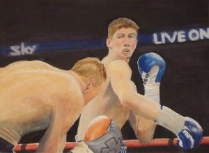 """""""Fight Night"""" by Graham Ibson"""