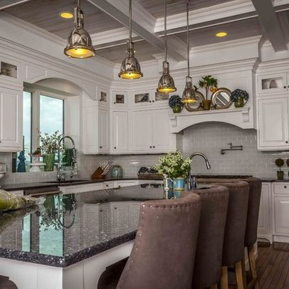 Blue Pearl Granite Countertops Design Ideas, Pictures, Remodel, and Decor - page 6