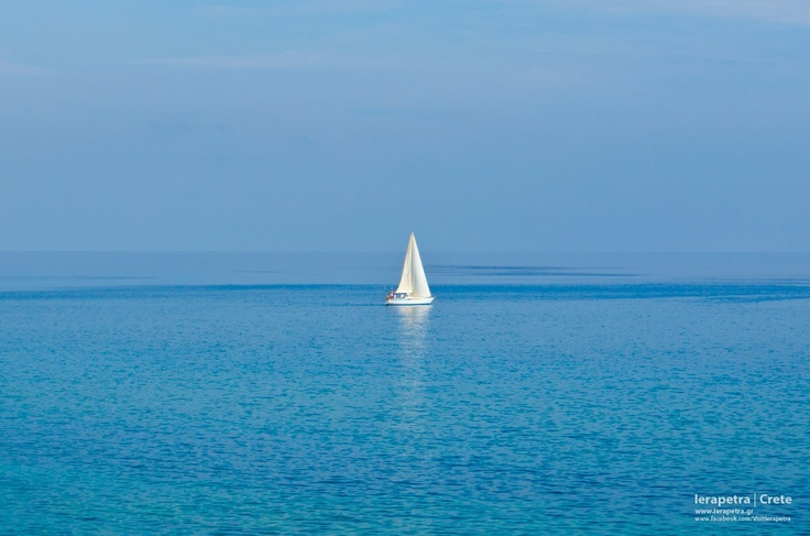The absolute beauty of the waters of #Ierapetra. Magic! | Η απόλυτη ομορφιά στα νερά της Ιεράπετρας. Μαγεία!  (CC-BY-SA 3.0)