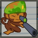 sniper monkey from bloons tower defense 5