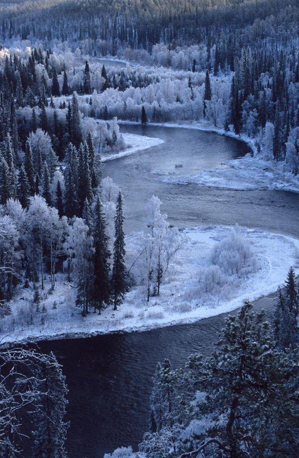 Oulanka National Park, Metsahallitus, Finland: Random Pictures, Winter Wonderland, Finland, National Parks, Places, Rivers, Photo, Oulanka National
