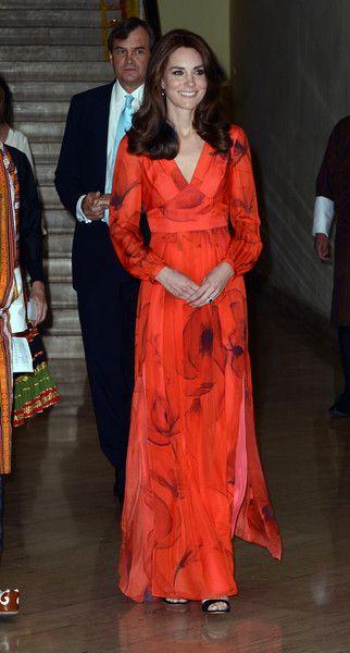 Kate wearing a Beulah dress