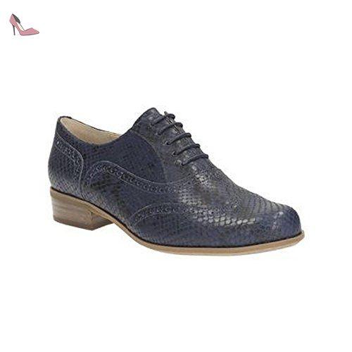 Clarks Hamble Oak Wide Fit 3 UK Navy Snake Leather - Chaussures clarks (*Partner-Link)