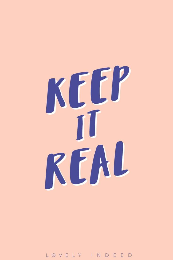 Keeping it Real // Our Manifesto | lovelyindeed.com