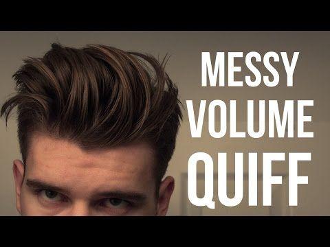Voluminous Hairstyle Tutorial Men's Hair 2017
