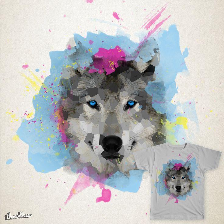 Wolf on Threadless