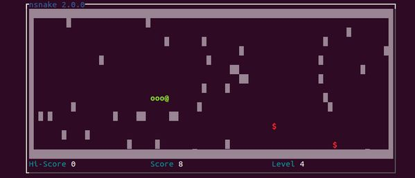Play the Classic Snake Game in the #Linux Terminal