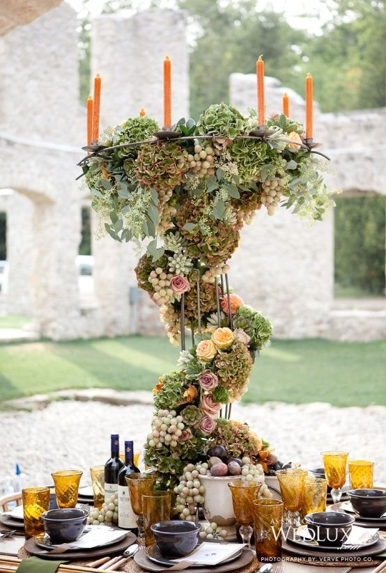 Wonderful Tablescape for a dinner party!