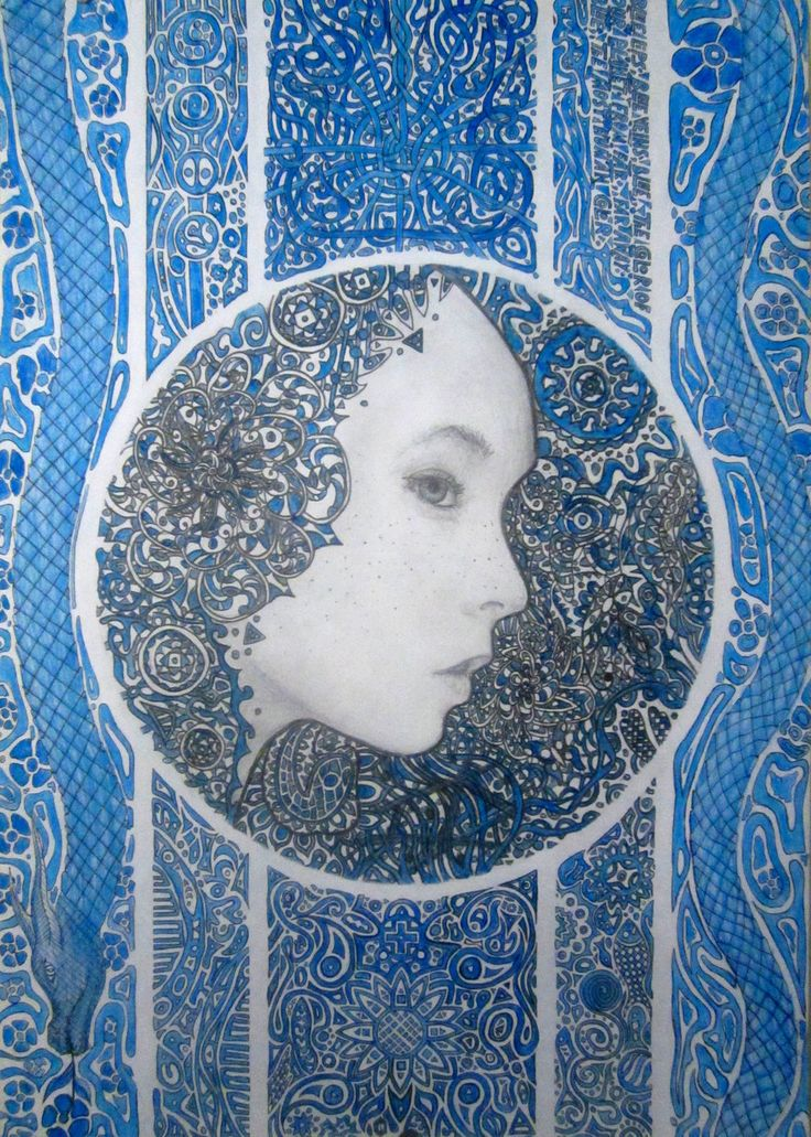 Blue lips,blue veins. by art-chi