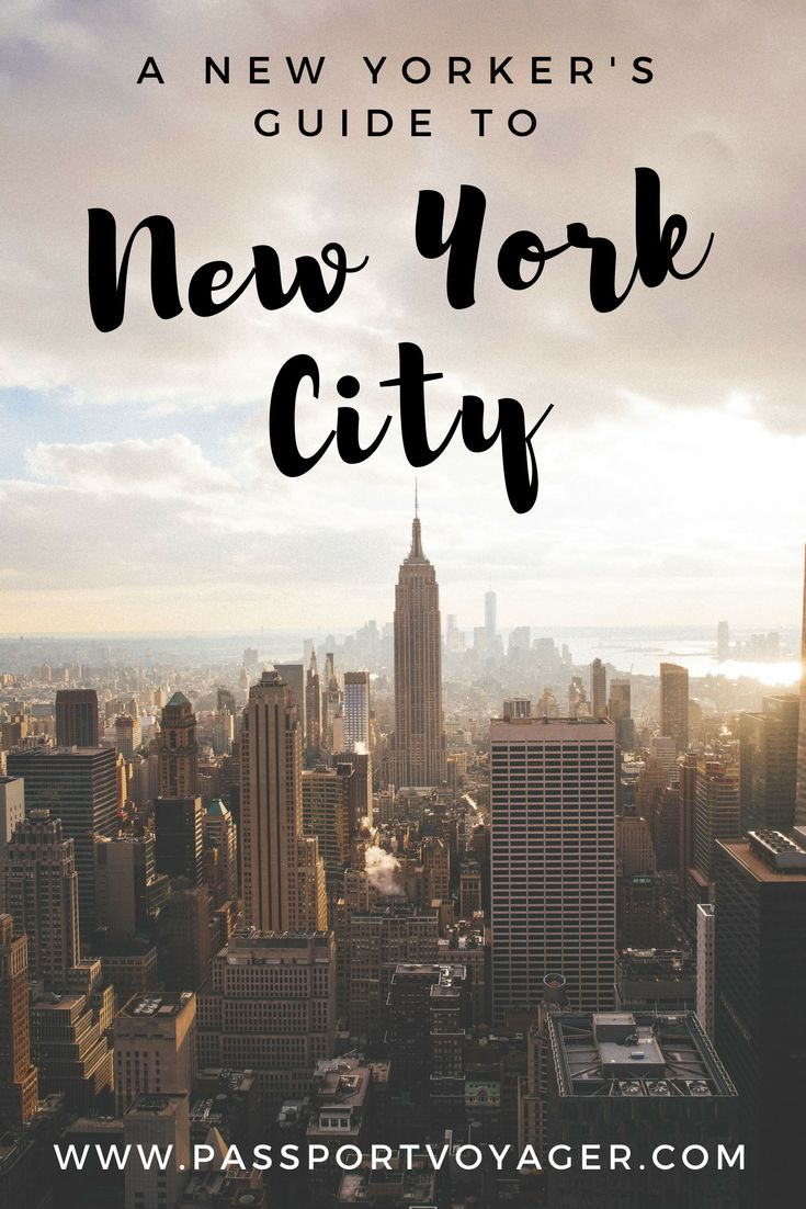 A comprehensive inside guide to navigating and enjoying your time in New York City, whether you're visiting for 24 hours or moving here for good!