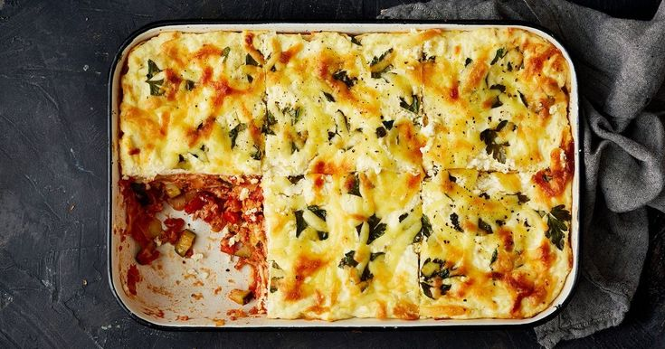 This easy tuna lasagne with zucchini, capsicum and ricotta will become your budget family dinner of the season.