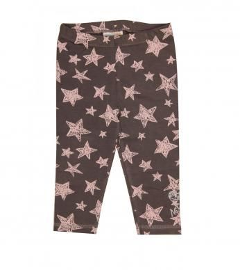 legging star print.  93% cotton and 7% spandex excluding trims.