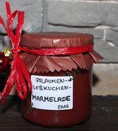 Weihnachtliche Pflaumen - Lebkuchen - Marmelade