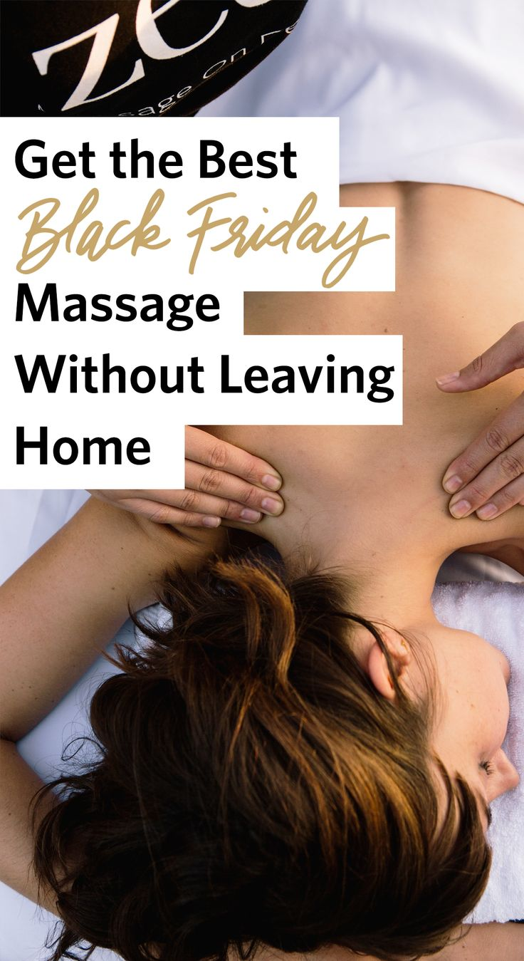 Get the best Black Friday massage deal without leaving home. Zeel brings the spa experience right to you.