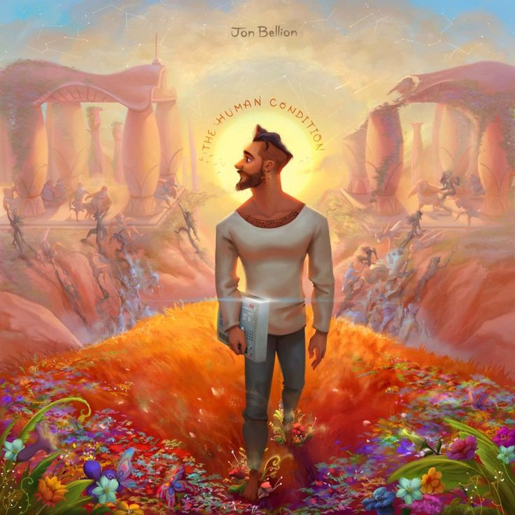 """""""For anyone who hasn't heard his music, they probably assume I have been drugged and accidentally joined a cult…. But I promise I haven't. Let me explain."""" #jonbellion"""