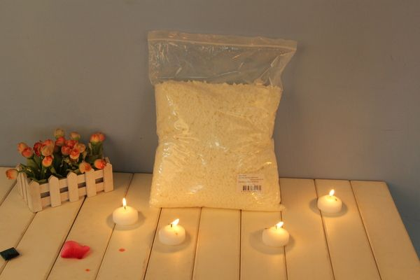 10kg Natural Soy Wax Flakes For Candle Container Tealight Making Supplies