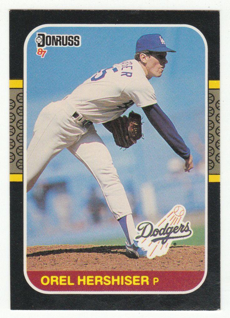 Orel Hershiser # 106 - 1987 Donruss Baseball