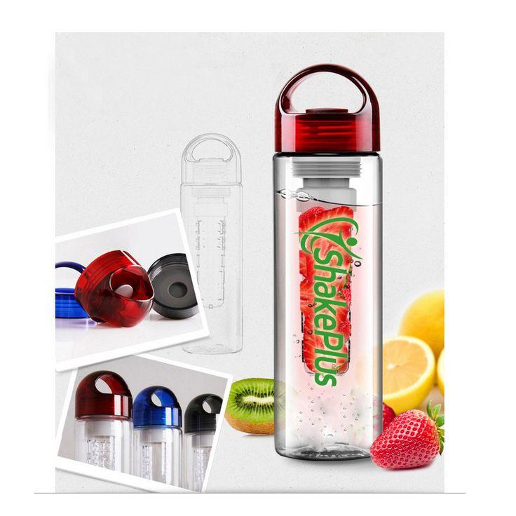 2015 New BPA free Water Bottle Creative Fruit cup Lemon Bottle sports infuser fruit water glass