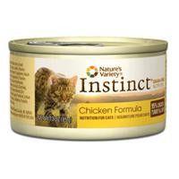 Nature's Variety Instinct Chicken Formula Feline 24/3 Oz