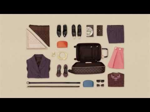 Louis Vuitton presents the art of packing #traveler #helpfultips