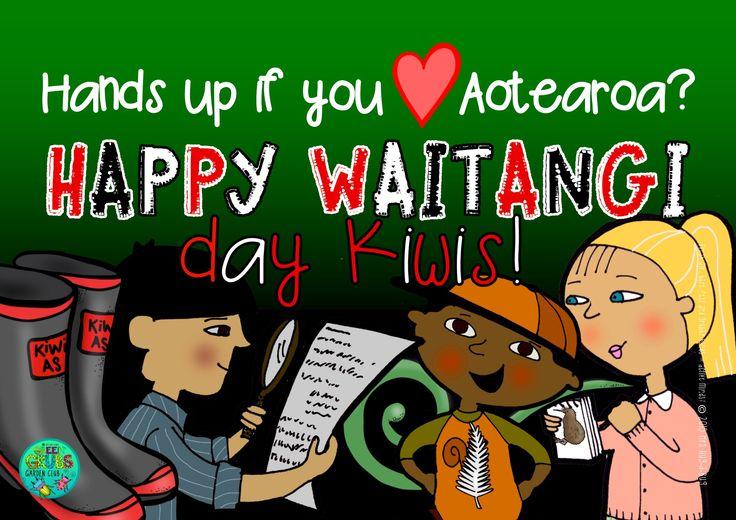 Hands up if you love #Aotearoa?  Happy #Waitangi Day Kiwis! {Green Grubs Garden Club Blog}