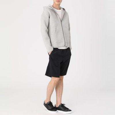 綿混二重編みパーカー 紳士XL・ネイビー | 無印良品ネットストア