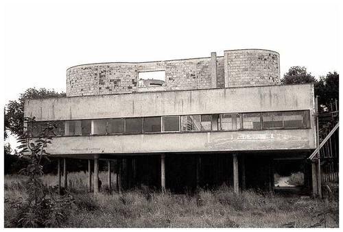 Ville Savoye before restoration