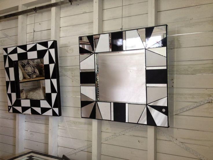SKYSCRAPER CAPE TOWN - 20th CENTURY CLASSICS: Art Deco/Modernist/Retro Black & White Glass Mosai...