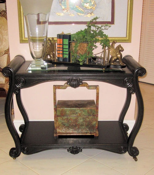 ... Tea Cart Accent Table | High-End Furniture & Luxury Brands