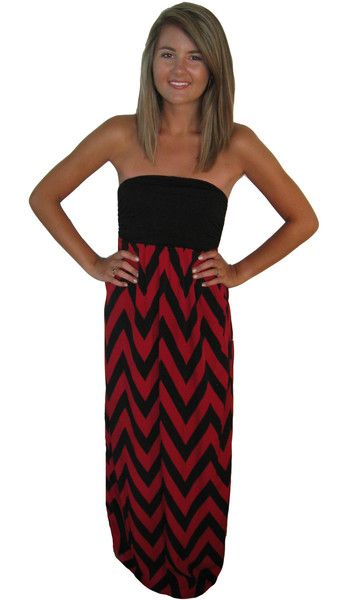 Our Gamecock Glamour Dress is a Stunner! USC Girls will fall in love! #Southcarolinastyle #gamecockgameday Queen of the Tailgate - www.TailgateQueen.com
