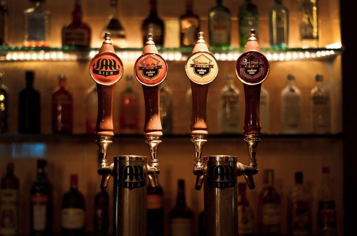 Chopera cerveza tirada artesanal JAHBIER [Rubia, roja, negra, especial del día]