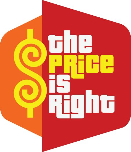 The Price Is Right Logo -repinned from Los Angeles ceremony officiant https://OfficiantGuy.com