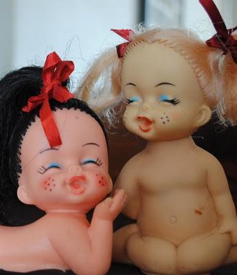 Bonecas Peladinhas anos 70