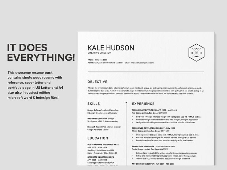 14 best images about Layouts on Pinterest Curriculum, Cover - clean resume design