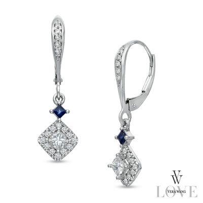 Vera Wang Love Collection 1 2 Ct T W Princess Cut