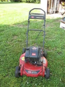 How do you change drive belt on toro lawn mower?