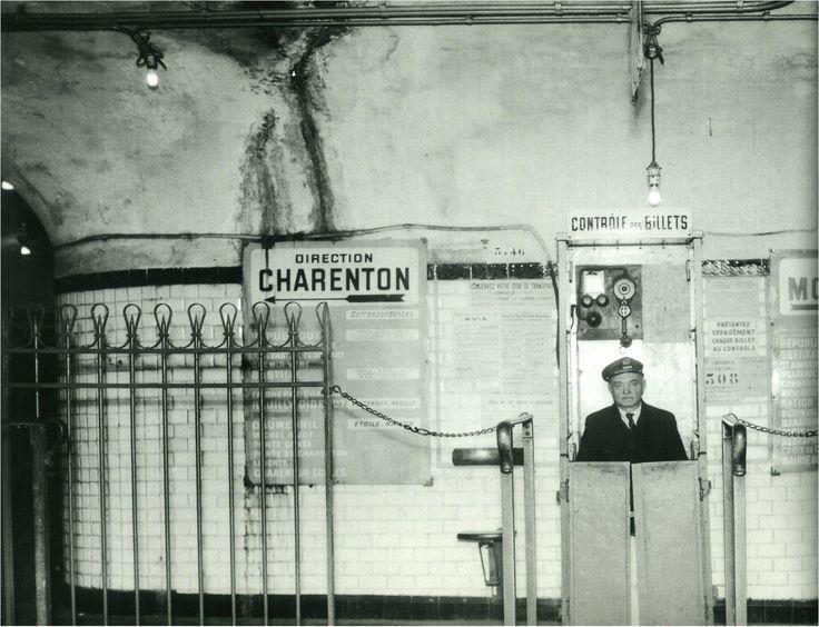 Contrôleur de métro, Paris 1965