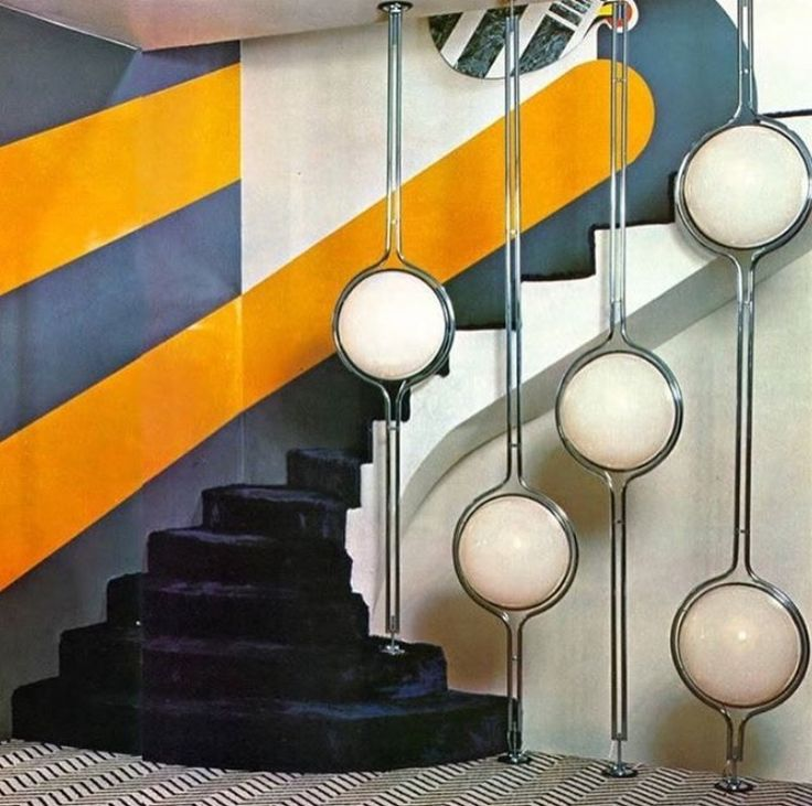 Image result for 70's interior design