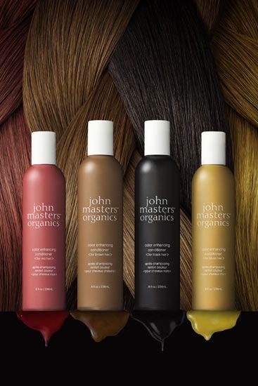 John Masters Organics Color Enhancing Conditioners ger fantastiskt liv och glans åt din hårfärg. Ekologisk hårvård med funktion!
