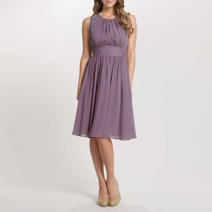 Lavender Alia Chiffon Short Dress - Bridesmaid dresses - Debenhams.com