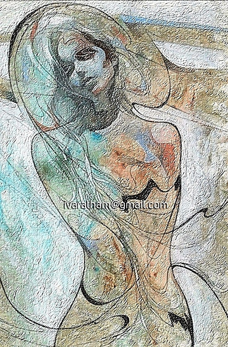 Beautiful Impasto Oil Painting by Ivaratham. Buy it for $5 visit : http://ivaratham.blogspot.in