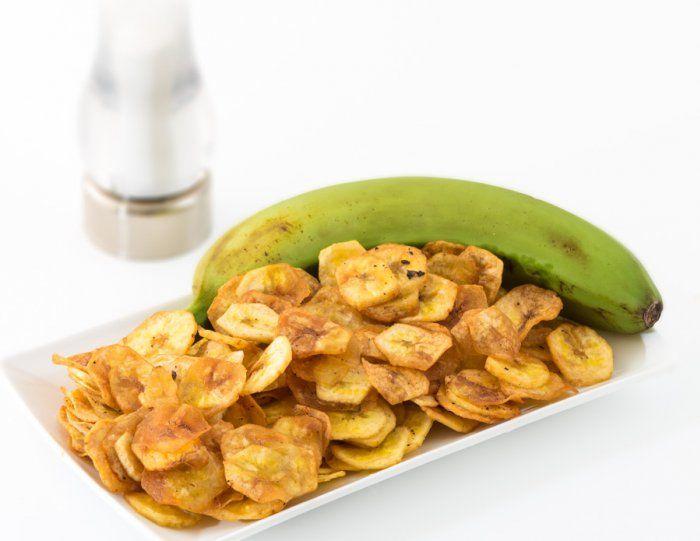 Chips banane plantain aux épices
