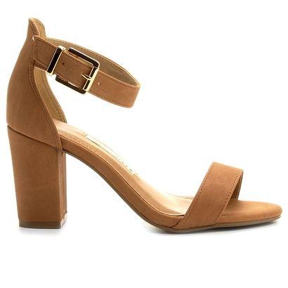 Compre Sandália Via Marte Salto Grosso Caramelo na Zattini a nova loja de moda online da Netshoes. Encontre Sapatos, Sandálias, Bolsas e Acessórios. Clique e Confira!