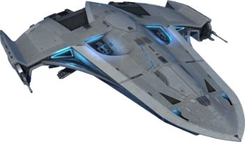 Star Wars: The Old Republic  - Phantom. My favorite of the SWTOR ships that you get.