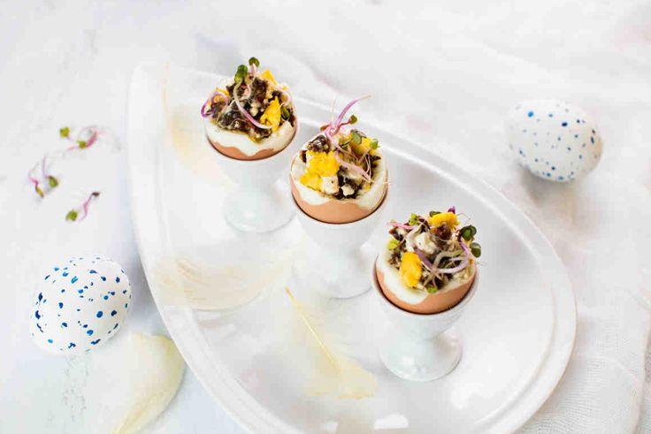 #jajka #eggs #wielkanoc #omnomnom #easter #mniam #smacznastrona