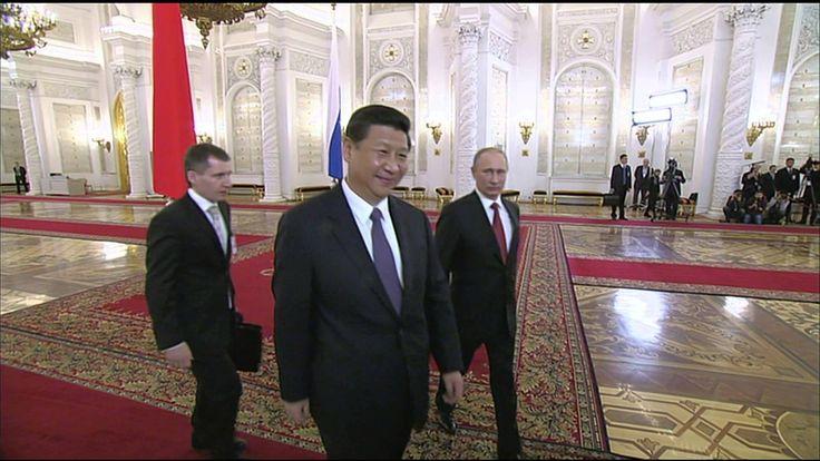 Russian President Vladimir Putin Meets Chinese Leader Xi Jinping