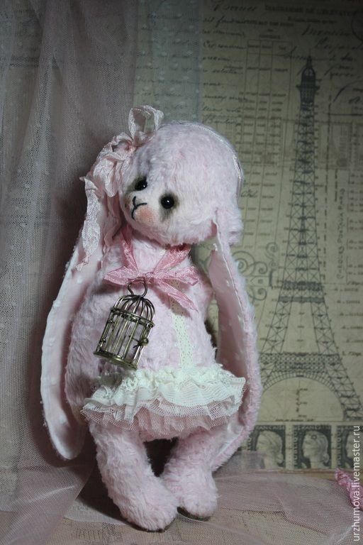"""Мишки Тедди ручной работы. Ярмарка Мастеров - ручная работа. Купить """"Нежность в кружевах..."""". Handmade. Кролик, авторский заяц"""