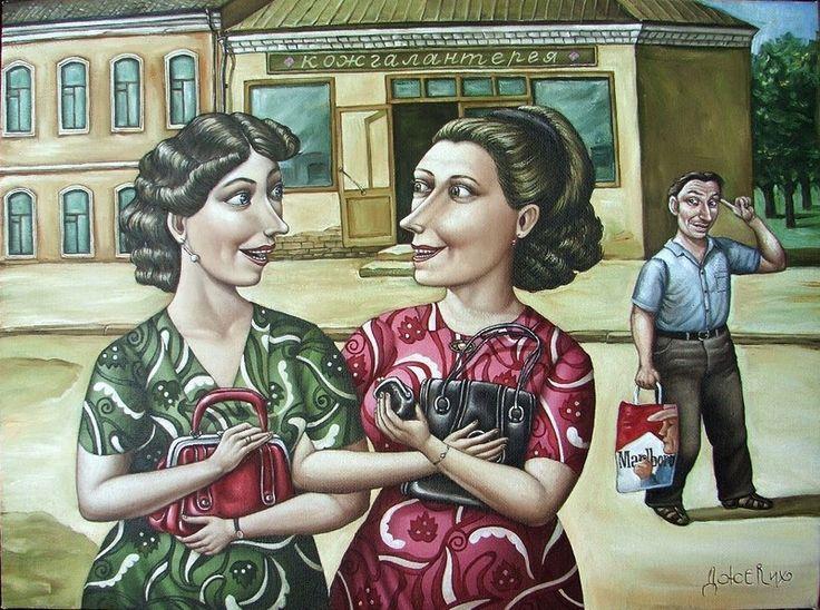Путешествие в СССР: картины художницы Анжелы Джерих • НОВОСТИ В ФОТОГРАФИЯХ