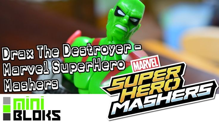Drax The Destroyer - Hasbro Marvel Superhero Masher